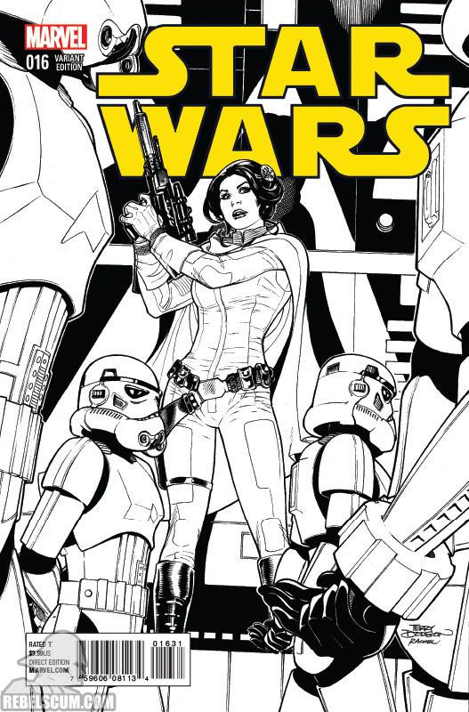 Star Wars 16 (Terry Dodson sketch variant)