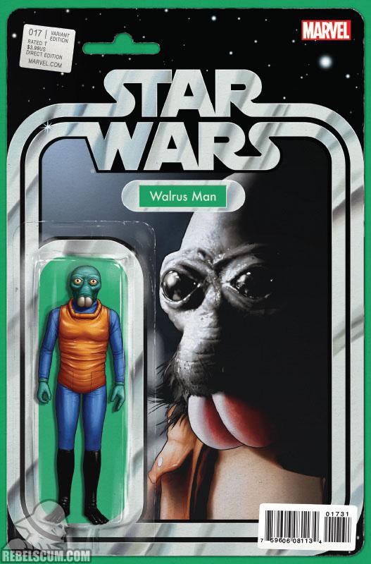 Star Wars 17 (John Tyler Christopher Action Figure variant)