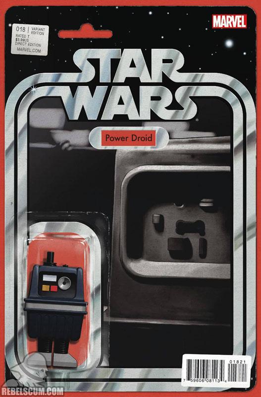 Star Wars 18 (John Tyler Christopher Action Figure variant)