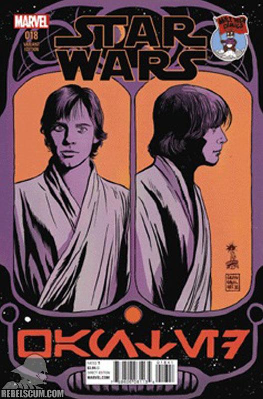 Star Wars 18 (Francesco Francavilla Mile High Comics variant)