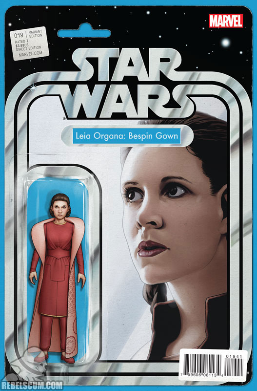 Star Wars 19 (John Tyler Christopher Action Figure  variant)