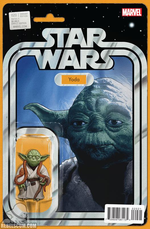 Star Wars 20 (John Tyler Christopher Action Figure  variant)