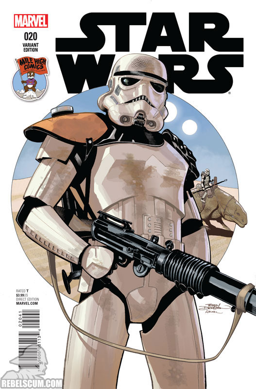 Star Wars 20 (Terry Dodson Mile High Comics variant)