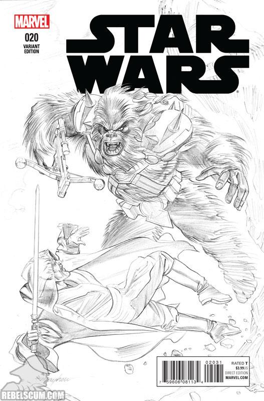 Star Wars 20 (Mike Mayhew sketch variant)