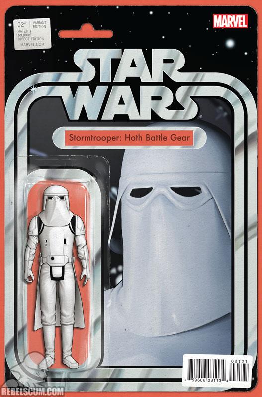 Star Wars 21 (John Tyler Christopher Action Figure variant)