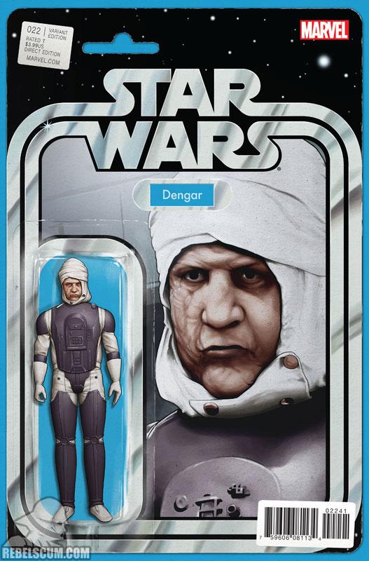 Star Wars 22 (John Tyler Christopher Action Figure  variant)