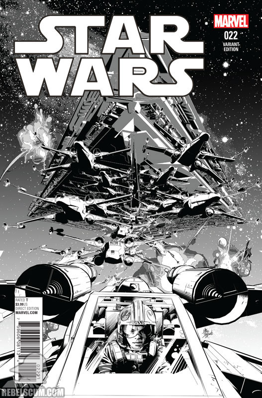 Star Wars 22 (Mike Deodato sketch variant)