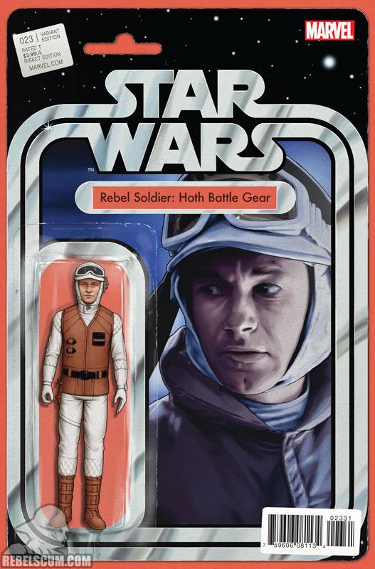 Star Wars 23 (John Tyler Christopher Action Figure  variant)