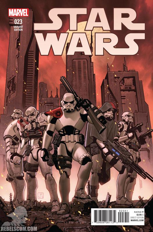 Star Wars 23 (Jorge Molina variant)