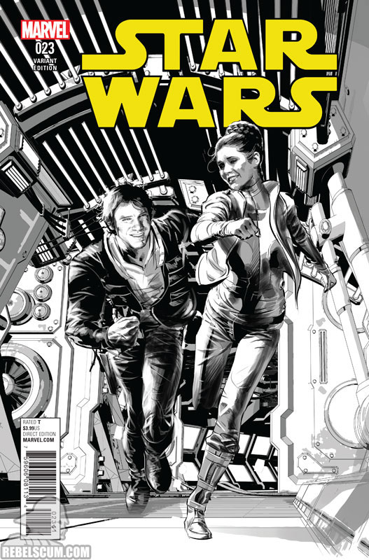 Star Wars 23 (Mike Deodato sketch variant)