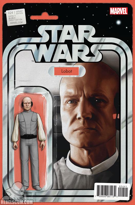Star Wars 24 (John Tyler Christopher Action Figure  variant)