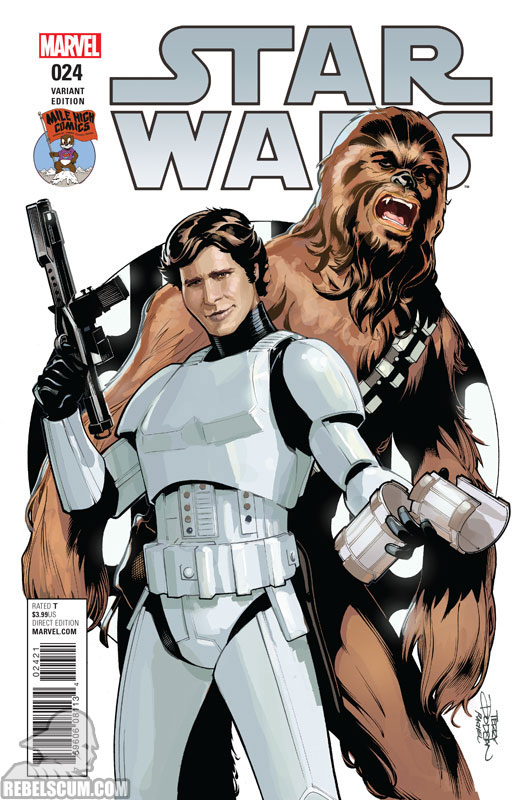 Star Wars 24 (Terry Dodson Mile High Comics variant)