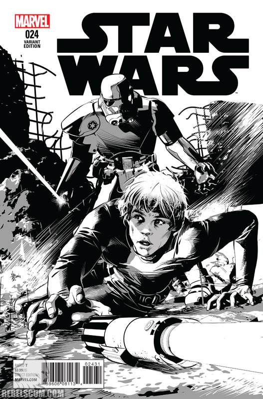 Star Wars 24 (Mike Deodato sketch variant)