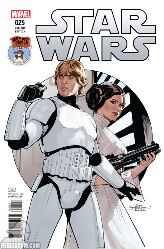 Star Wars 25 (Terry Dodson Mile High Comics variant)
