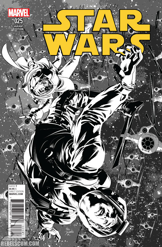 Star Wars 25 (Mike Deodato sketch variant)
