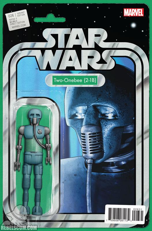 Star Wars 26 (John Tyler Christopher Action Figure  variant)