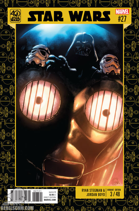 Star Wars 27 (Ryan Stegman 40th Anniversary variant)