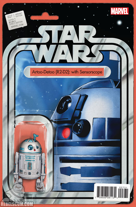 Star Wars 27 (John Tyler Christopher Action Figure  variant)