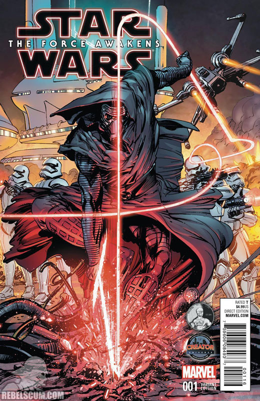 The Force Awakens 1 (Neal Adams Nickel City Con variant)