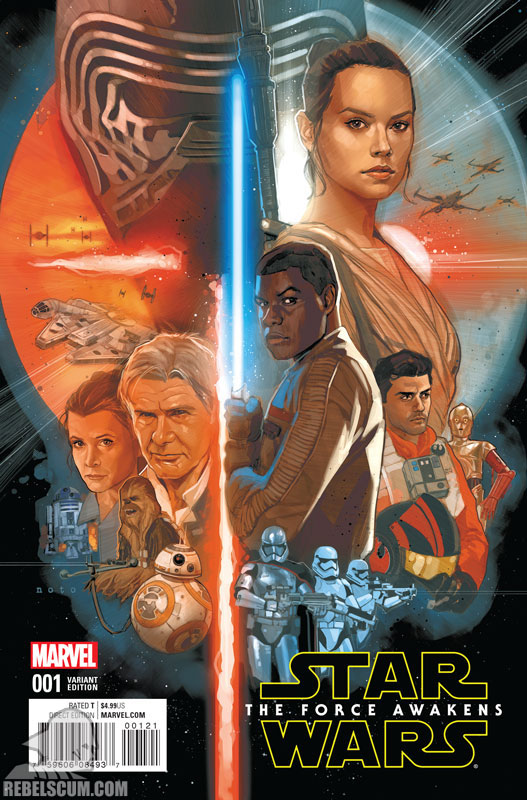 The Force Awakens 1 (Phil Noto variant)