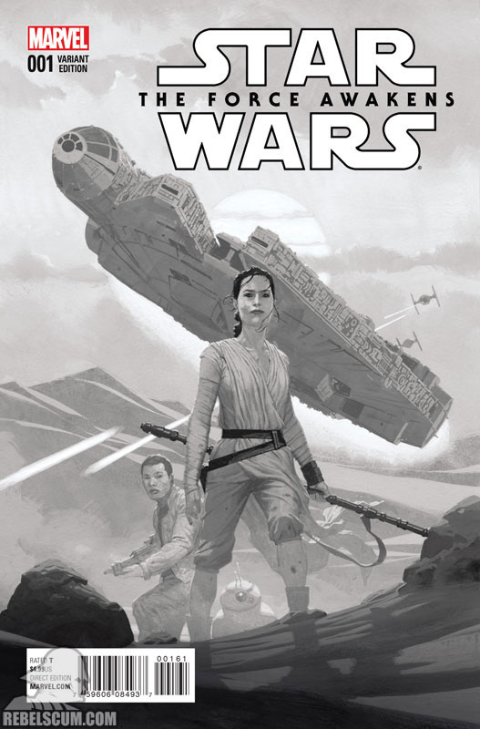 The Force Awakens 1 (Esad Ribic sketch variant)