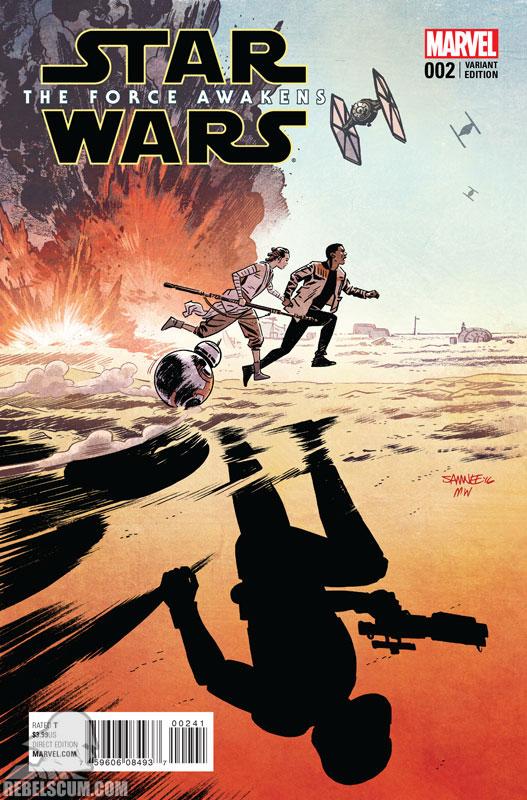 The Force Awakens 2 (Chris Samnee variant)