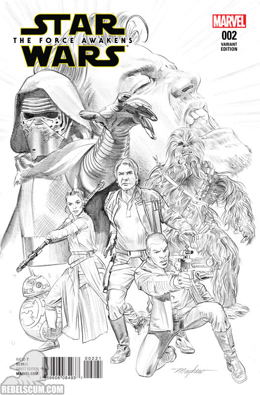 The Force Awakens 2 (Mike Mayhew sketch variant)