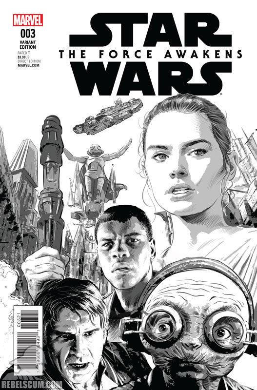 The Force Awakens 3 (Mike Deodato sketch variant)