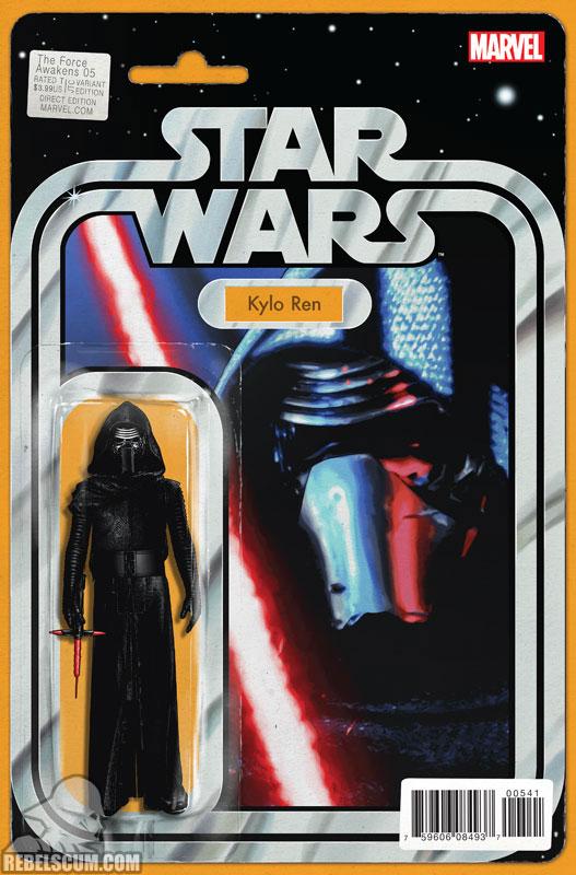 The Force Awakens 5 (John Tyler Christopher Action Figure variant)