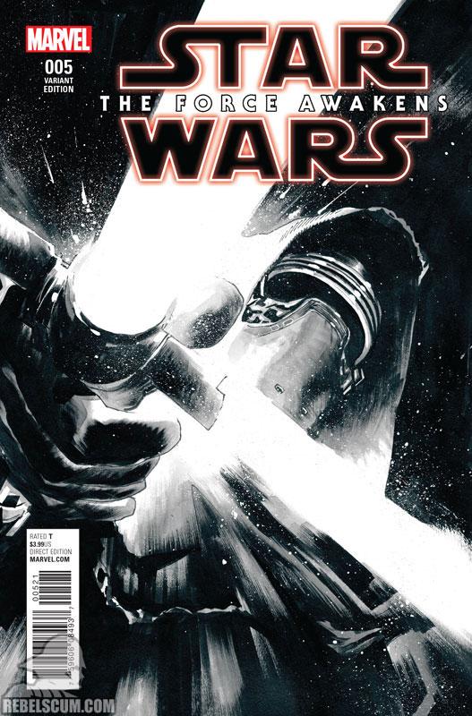 The Force Awakens 5 (Rafael Pinto Albuquerque Black & White variant)