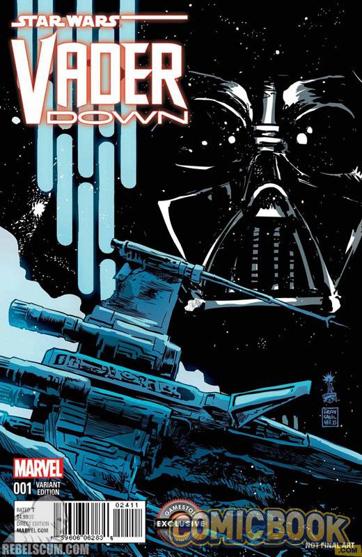 Vader Down 1 (Francesco Francavilla GameStop Store variant)