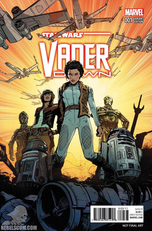 Vader Down 1 (Joëlle Jones variant)