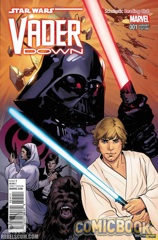 Vader Down 1 (Emma Luppacchino Scholastic Reading Club variant)