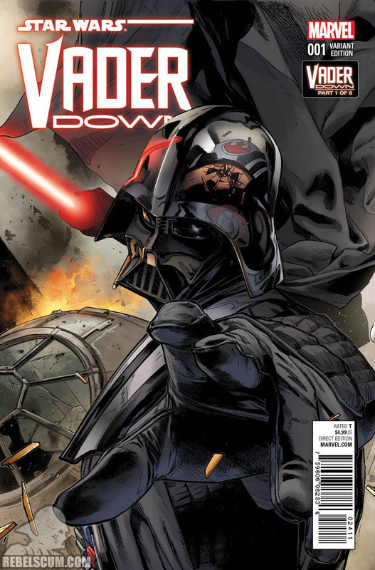 Vader Down 1 (Clay Mann Connecting Variant A)