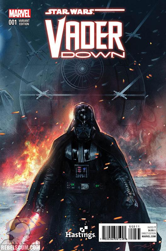 Vader Down 1 (Aleksi Briclot Hastings variant)