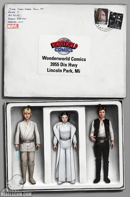 Vader Down 1 (John Tyler Christopher Wonderworld Comics variant)