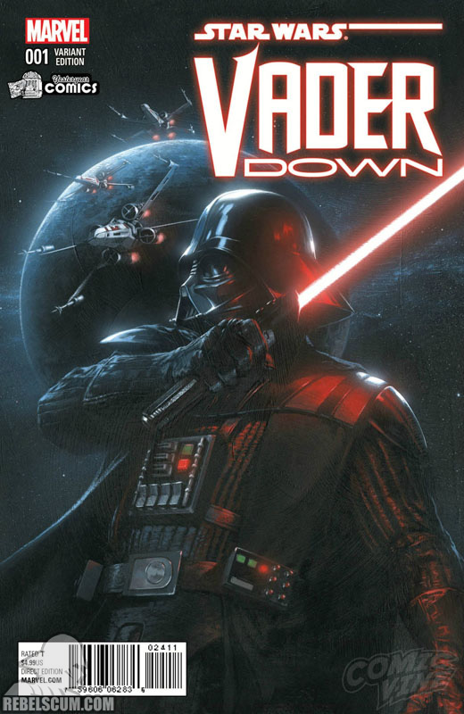 Vader Down 1 (Gabriele Dell'Otto Yesteryear Comics variant)
