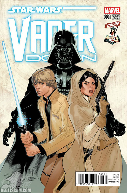 Vader Down 1 (Terry Dodson CBLDF variant)