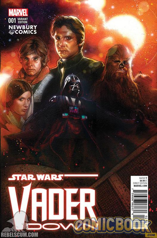 Vader Down 1 (Tony Harris Newbury Comics variant)