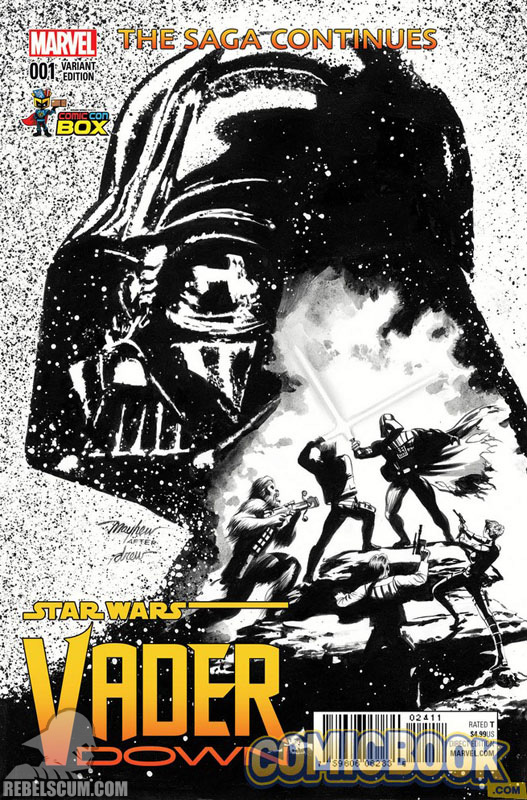 Vader Down 1 (Mike Mayhew Wizard World Comic Con Box Black & White variant)