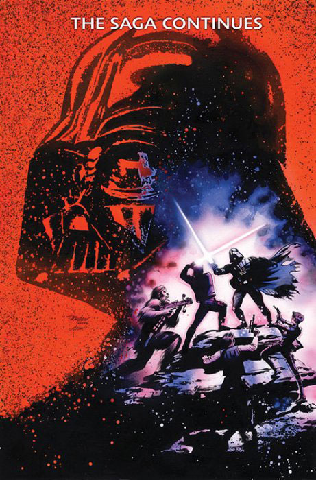 Vader Down 1 (Mike Mayhew Wizard World Comic Con Virgin variant)