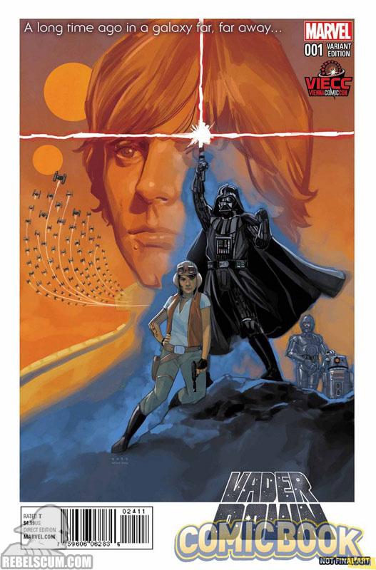 Vader Down 1 (Phil Noto Vienna Comic Con variant)