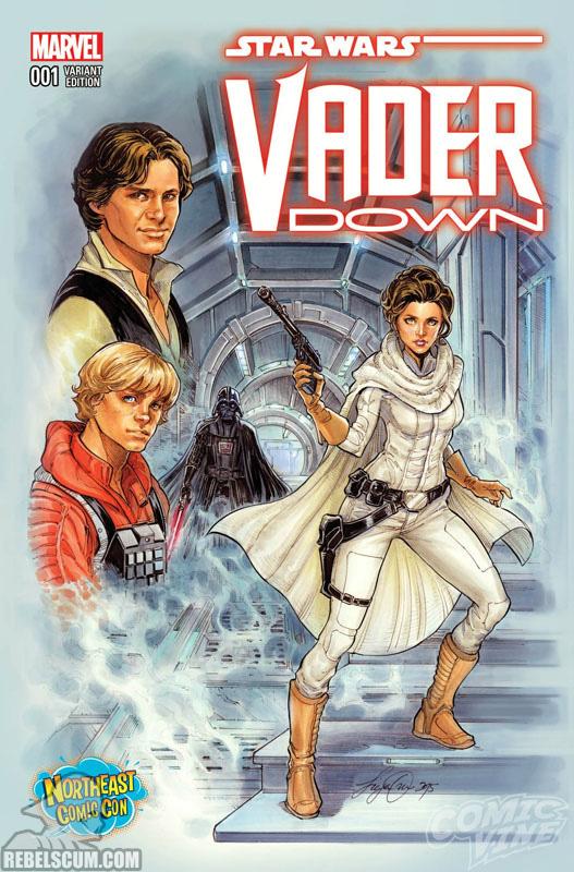 Vader Down 1 (Siya Oum Northeast Comic Con variant)