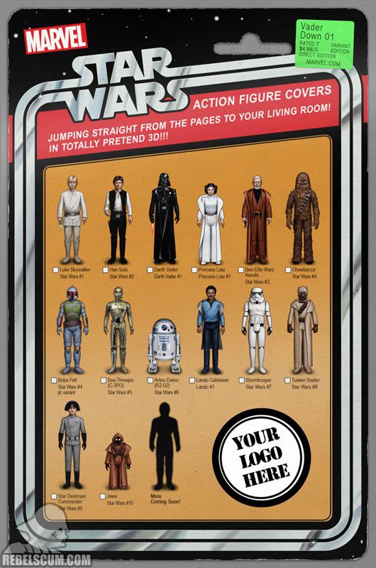 Vader Down 1 (John Tyler Christopher Retailer variant)