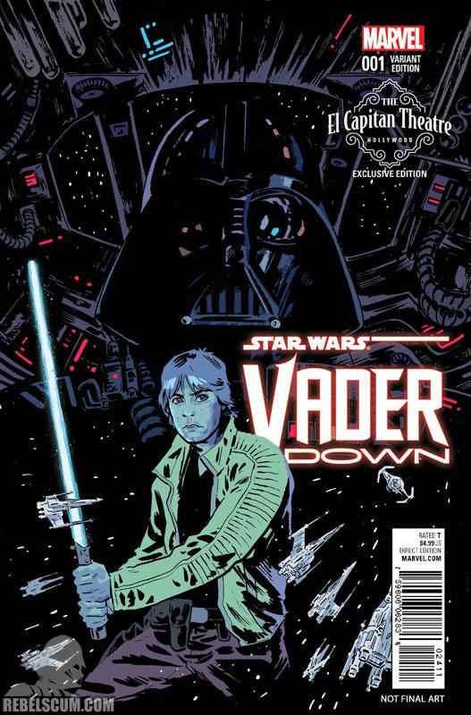 Vader Down 1 (Michael Walsh El Capitan Theatre variant)