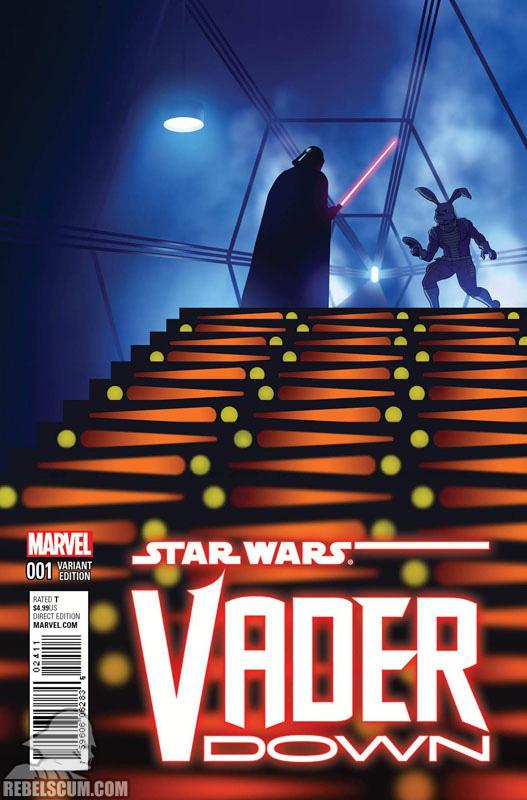 Vader Down 1 (Chip Zdarsky Jaxxon variant)