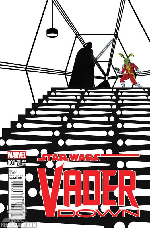 Vader Down 1 (Chip Zdarsky Jaxxon Spotlight variant)