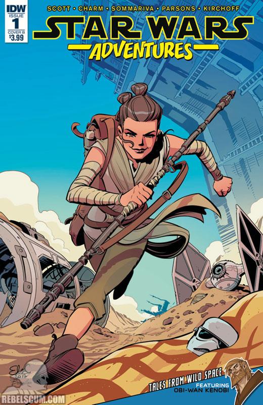 Star Wars Adventures 1 (Elsa Charretier B variant)