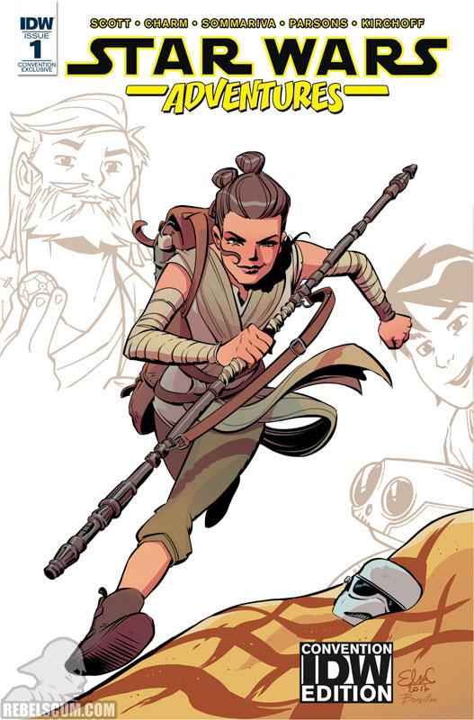 Star Wars Adventures 1 (Elsa Charretier IDW Convention variant)