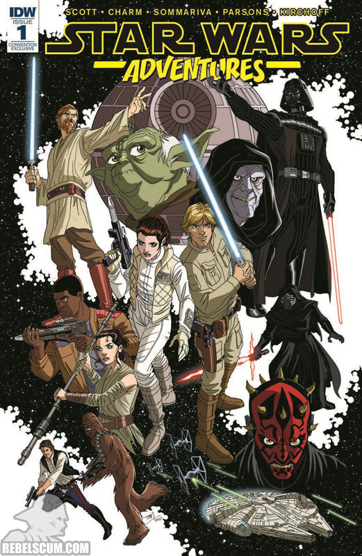 Star Wars Adventures 1 (Tim Levins Fan Expo Convention variant)